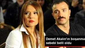 İşte Demet Akalın'ın  gerçek boşanma sebebi