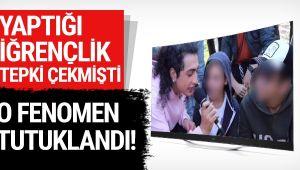 Sosyal medya fenomeni iğrençliğinin ardından İzmir de tutuklandı