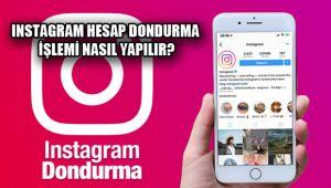 Instagram dondurma işlemi nasıl yapılır 2019? Instagram hesap silme!