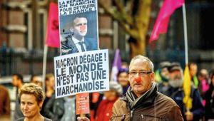 İsyan büyüyor! Fransa'da hayat duracak